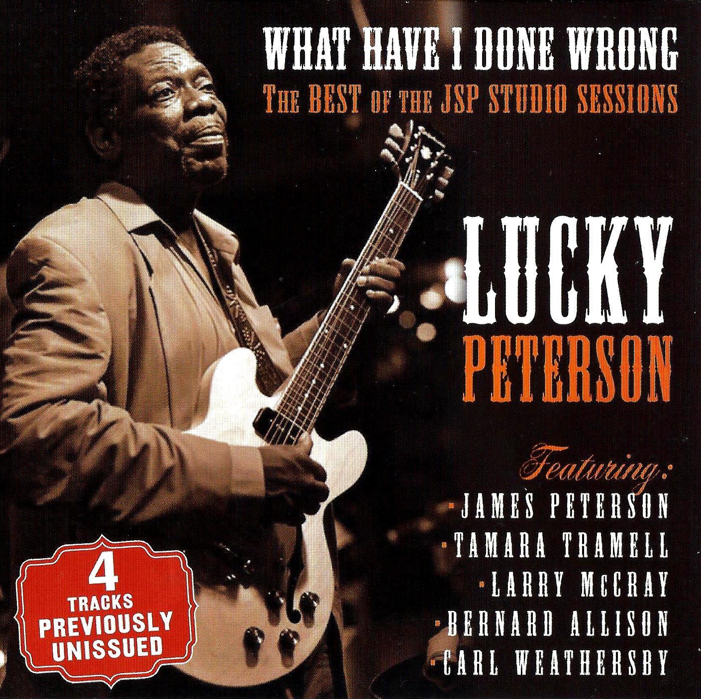 """Résultat de recherche d'images pour """"lucky peterson what i have done wrong the best of the jsp studios sessions cd"""""""