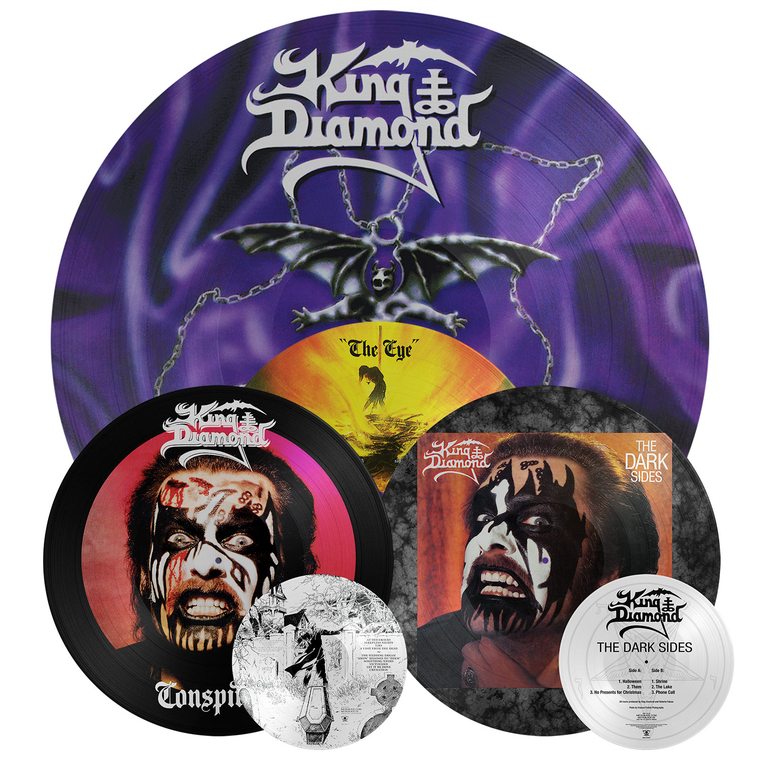 King Diamond: LP re-issues via Metal Blade Records - Paris Move