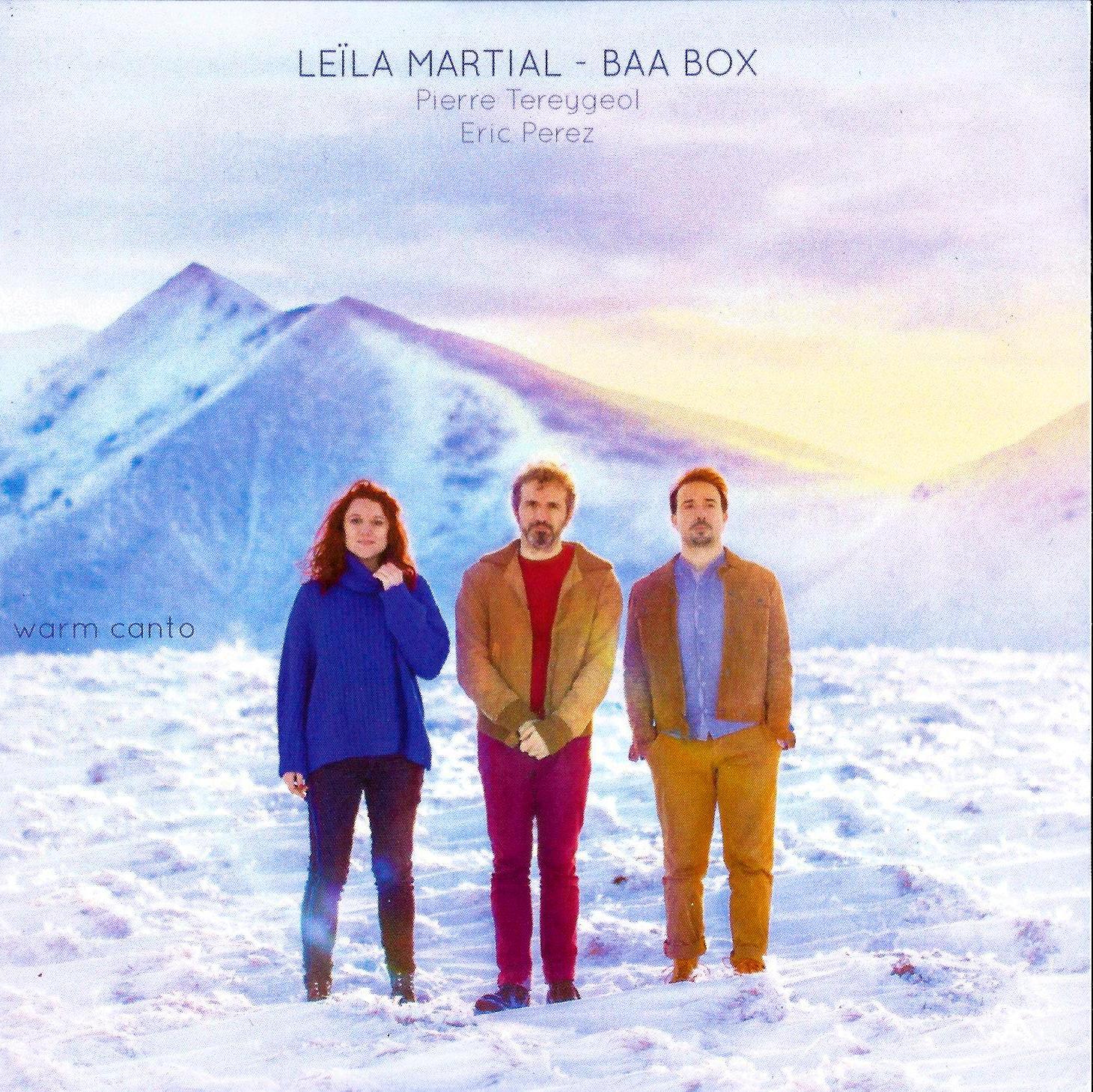 """Résultat de recherche d'images pour """"leïla martial & baa box warm canto cd"""""""