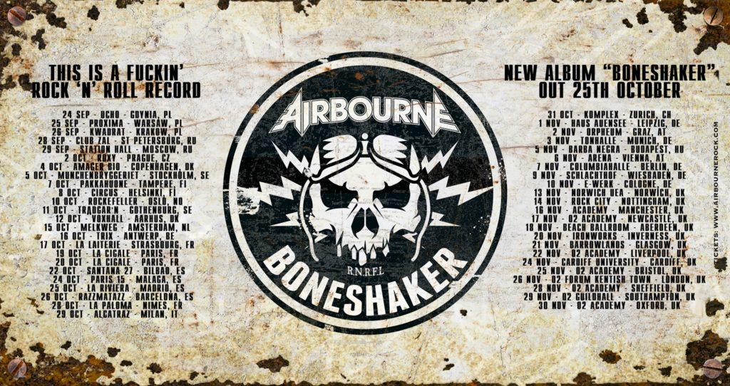 AIRBOURNE: new album