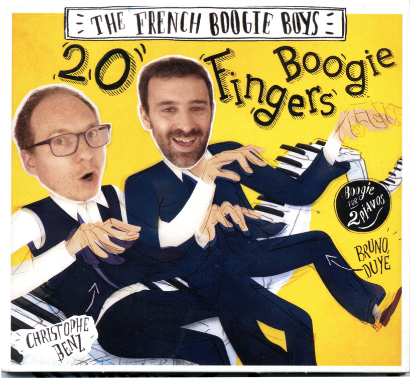 THE FRENCH BOOGIE BOYS - 20 Fingers Boogie