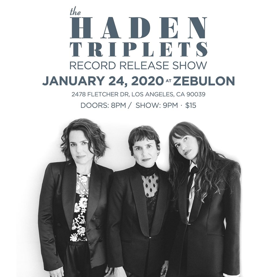 """THE HADEN TRIPLETS - """"The Family Songbook"""""""