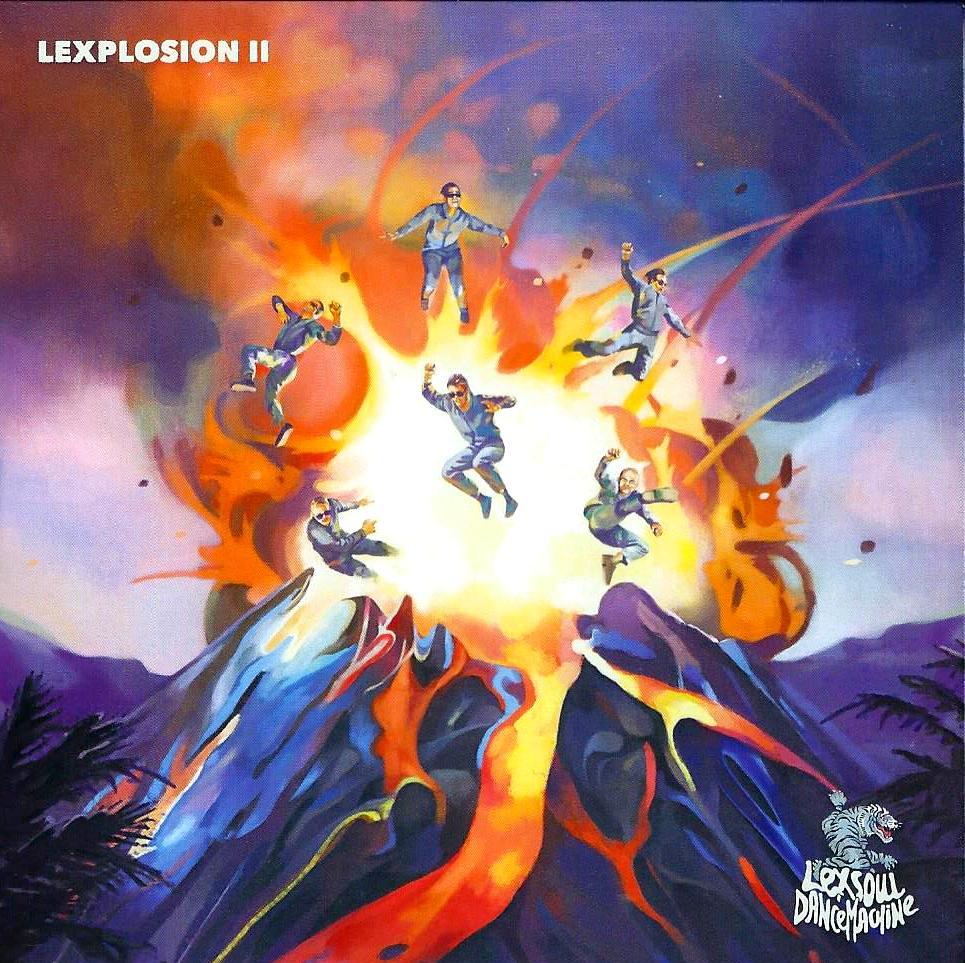 LEXSOUL DANCEMACHINE - Lexplosion II