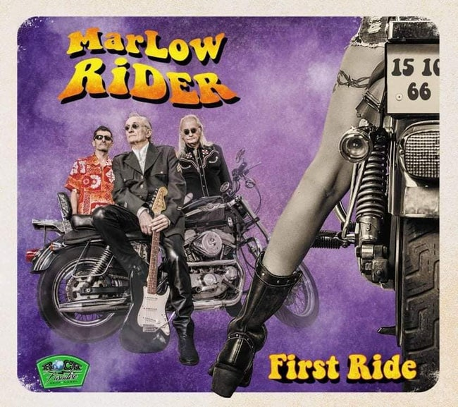 MARLOW RIDER (TONY MARLOW) - FIRST RIDE