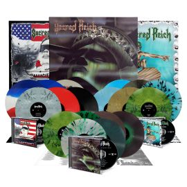 SACRED REICH reissues in CDs and LPs