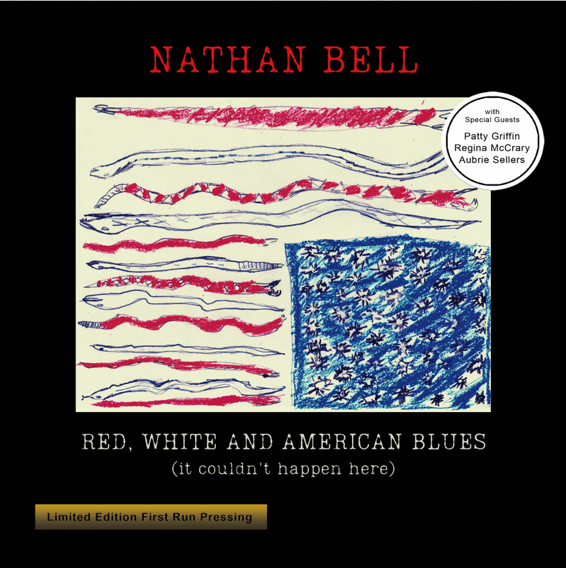 NATHAN BELL - Red, White And American Blues