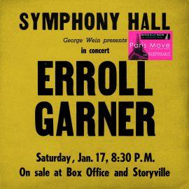 ERROLL GARNER – Symphony Hall Concert