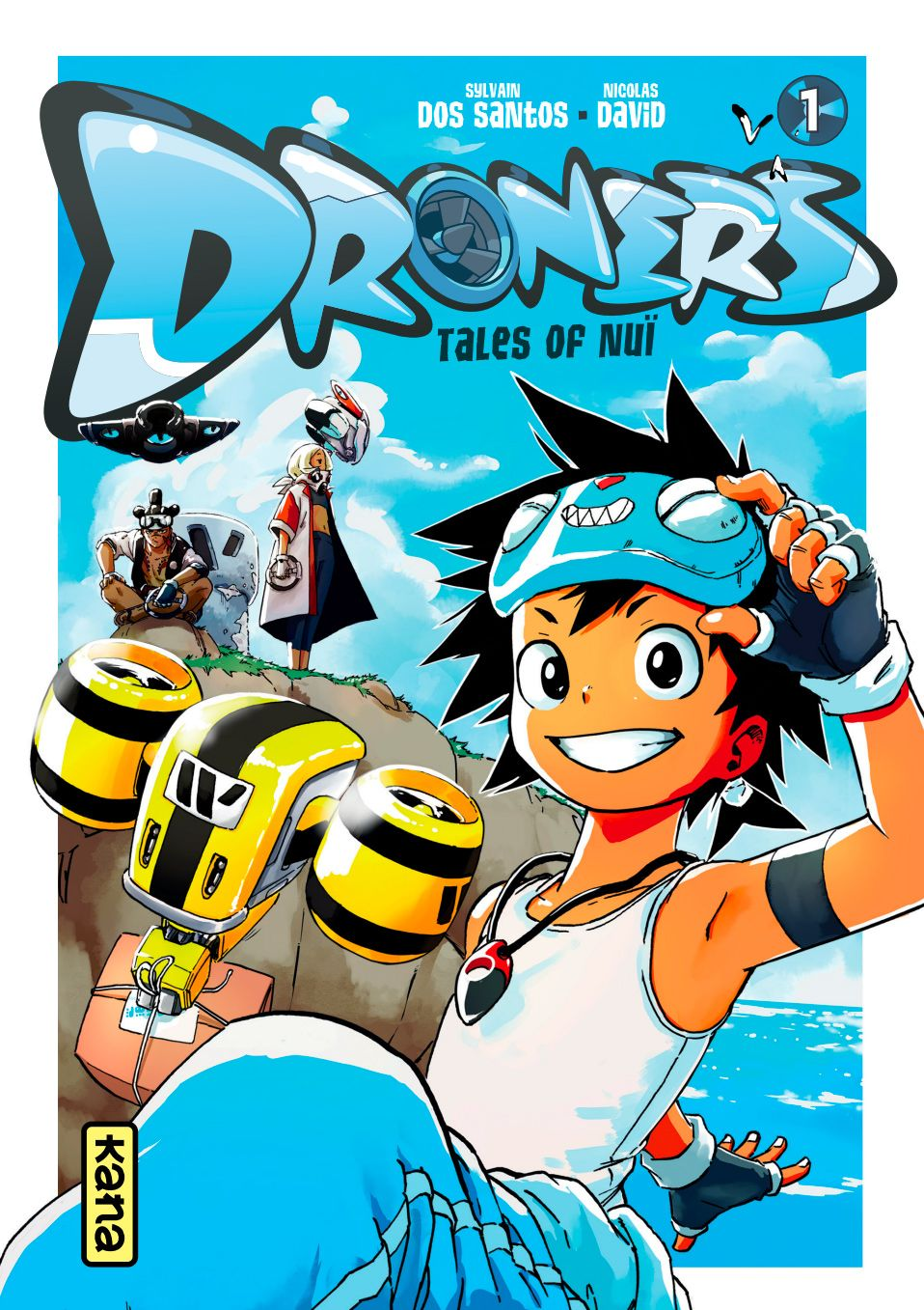 DRONERS, TALES OF NUI - VOLUME 1